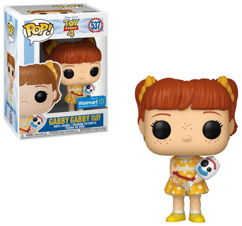 Funko Disney / Pixar Toy Story 4 POP! Disney Gabby Gabby Holding Forky Exclusive Vinyl Figure #537