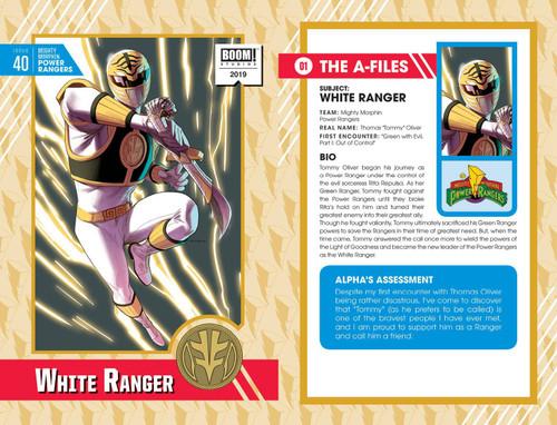 Boom Studios Mighty Morphin Power Rangers #40 Necessary Evil Comic Book [Kris Anka Variant Cover]