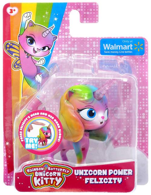 Nickelodeon Rainbow Butterfly Unicorn Kitty Unicorn Power Felicity Exclusive Figure