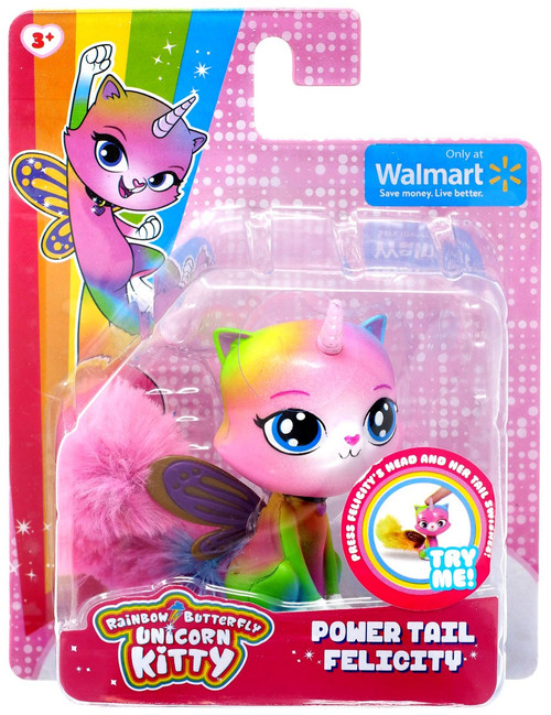 Nickelodeon Rainbow Butterfly Unicorn Kitty Power Tail Felicity Exclusive Figure