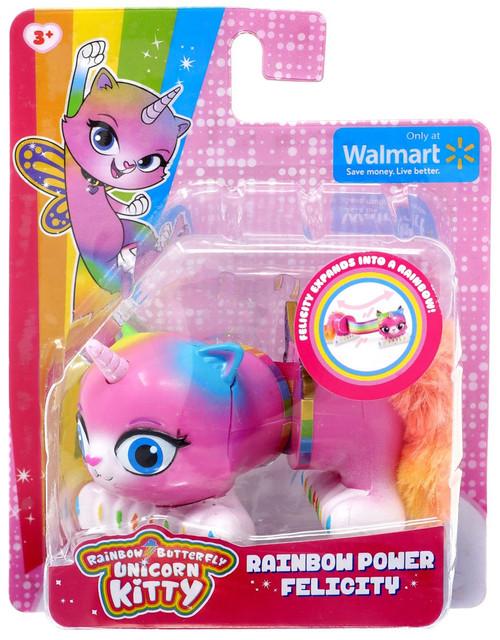 Nickelodeon Rainbow Butterfly Unicorn Kitty Rainbow Power Felicity Exclusive Figure