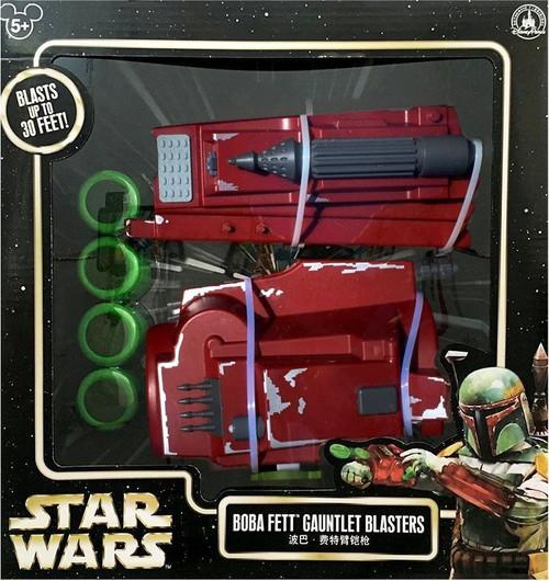 Disney Star Wars Boba Fett Gauntlet Blasters Exclusive Roleplay Toy