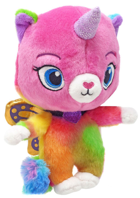 Nickelodeon Rainbow Butterfly Unicorn Kitty Kitty Felicity Exclusive 6-Inch Plush