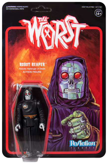 ReAction The Worst Robot Reaper Action Figure [Wide Release Colors]