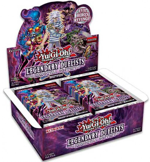 YuGiOh Trading Card Game Legendary Duelists Immortal Destiny Booster Box [36 Packs]