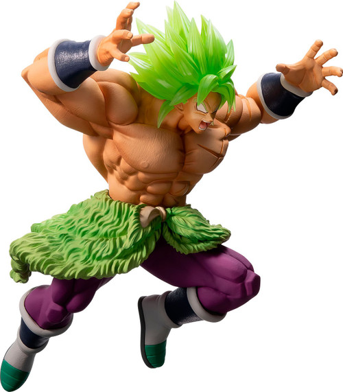 Dragon Ball Ichiban Super Saiyan Broly Full Power 7.7-Inch Collectible PVC Figure