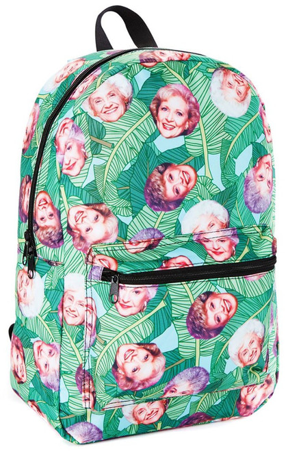 Golden Girls Tropical All Over Print Sublimated Backpack