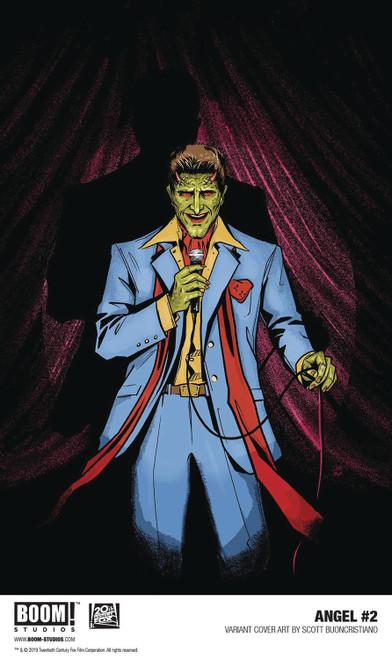 Boom Studios Angel #2 Comic Book [Buoncristiano Variant Cover]