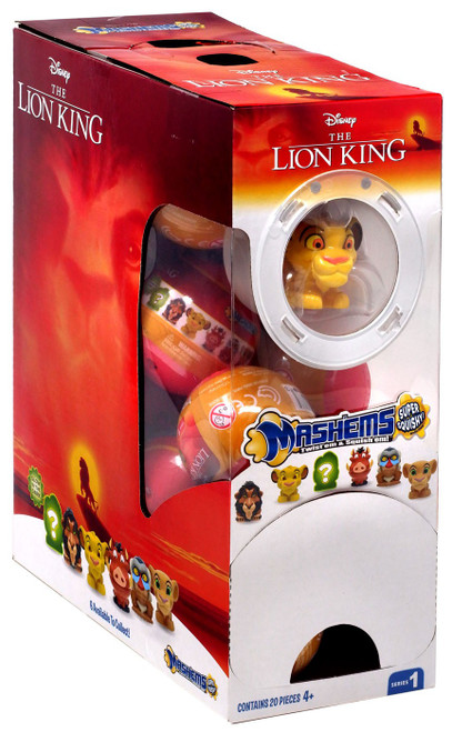Disney Mash'Ems Series 1 The Lion King Mystery Box [20 Packs]