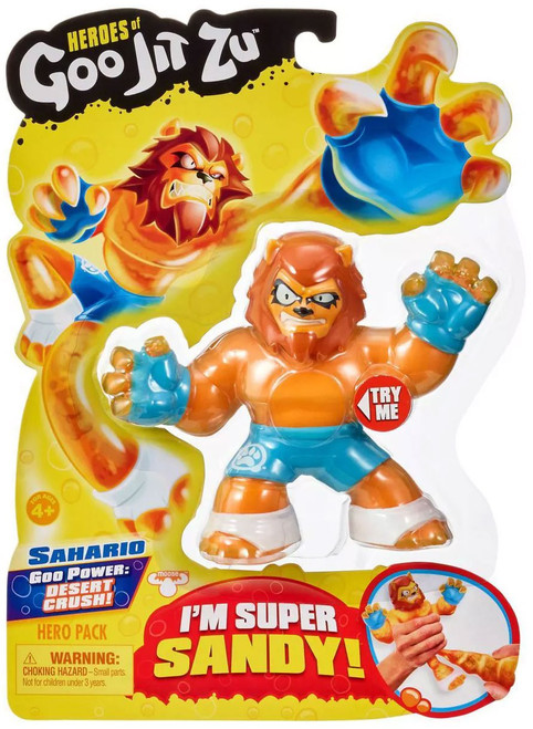 Heroes of Goo Jit Zu Sahario Action Figure [Lion]