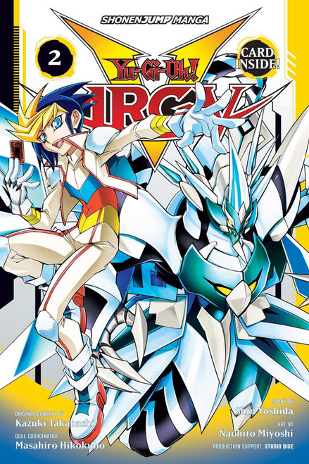 Yugioh YuGiOh! Arc-V Volume 2 Turbo Duel! Manga Trade Paperback [DOES NOT COME WITH PROMO CARD]