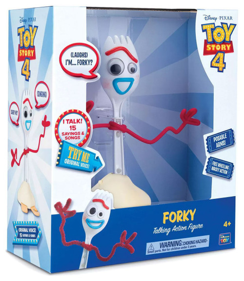 Toy Story 4 Forky Talking Action Figure [Free Wheeling Wacky Action]
