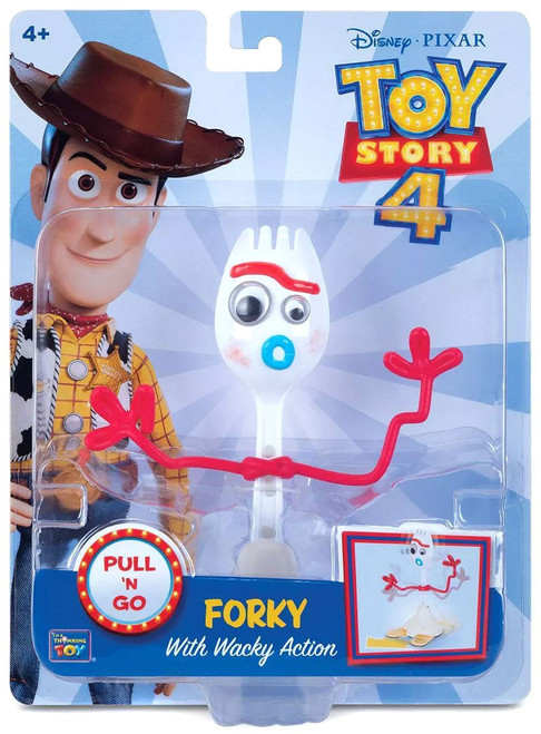Toy Story 4 Pull 'N Go Forky Action Figure [Wacky Action]