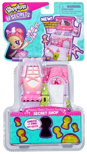 Shopkins Lil' Secrets Secret Shop Happy Steps Dance Studio Mini Playset