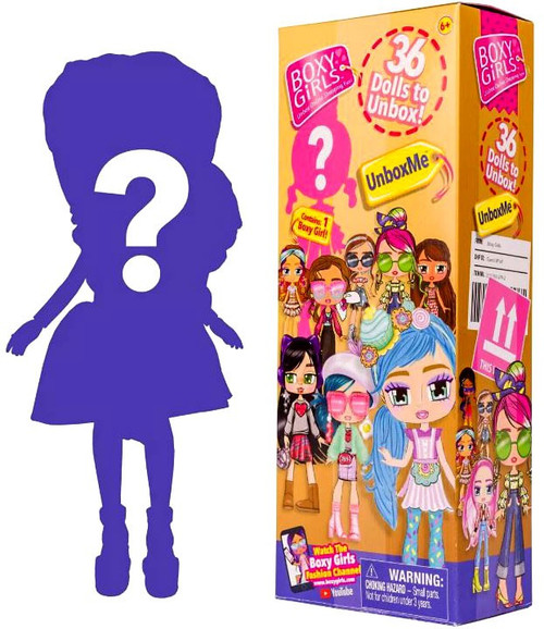 Boxy Girls UnboxMe Exclusive Doll Mystery Pack