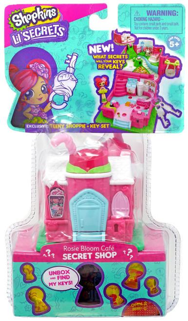 Shopkins Lil' Secrets Secret Shop Rosie Bloom Cafe Mini Playset