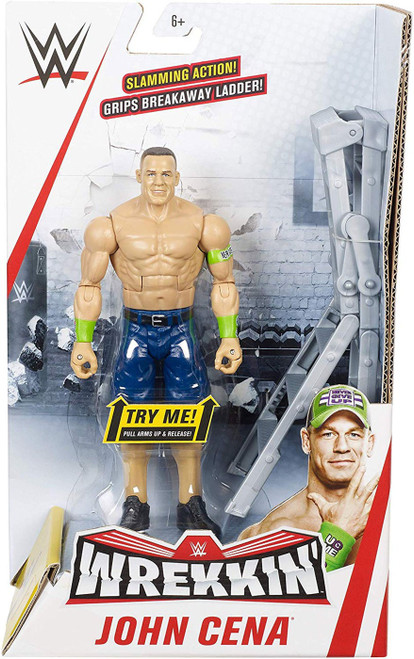 WWE Wrestling Wrekkin' John Cena Action Figure