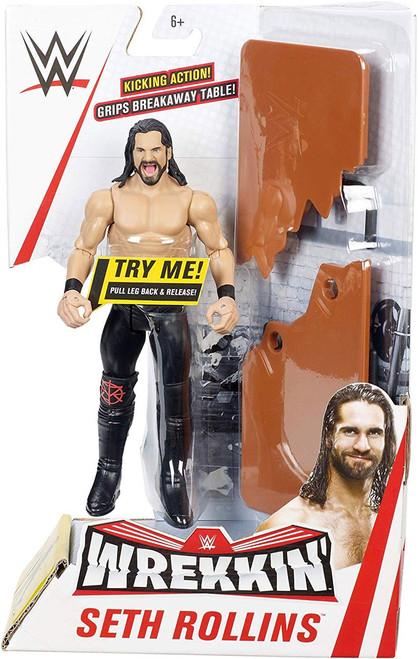 WWE Wrestling Wrekkin' Seth Rollins Action Figure