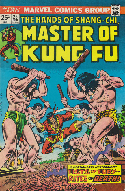 Marvel Comics Master of Kung Fu #25 Comic Book [Very Fine]