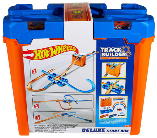 Hot Wheels Track Builder System Deluxe Stunt Box Track Set