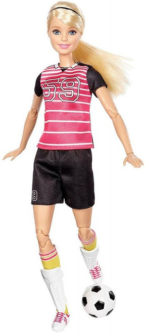 Made to Move You Can Be Anything Barbie 13.25-Inch Doll [Soccer Player, Blonde]