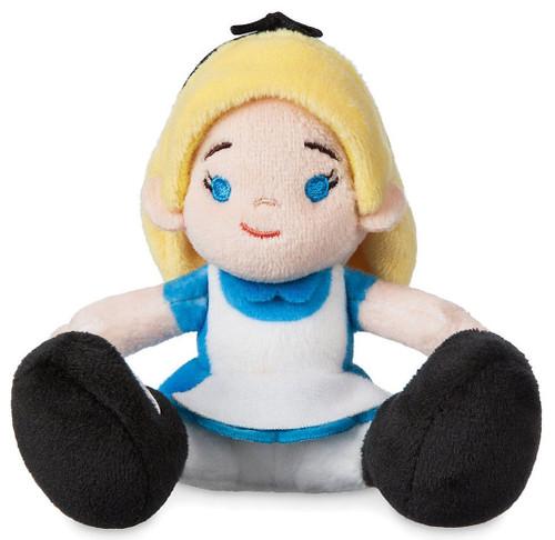 Disney Alice in Wonderland Tiny Big Feet Alice Exclusive 4-Inch Micro Plush