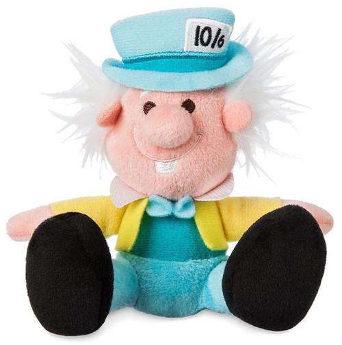 Disney Alice in Wonderland Tiny Big Feet Mad Hatter Exclusive 4-Inch Micro Plush