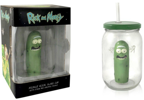 Rick & Morty Pickle Rick Exclusive Pickle Jar