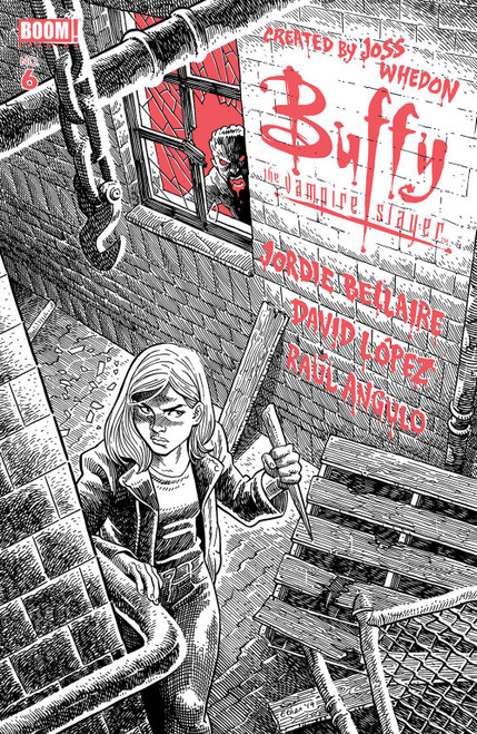 Boom Studios Buffy The Vampire Slayer #6 Comic Book [Ethan Young Variant Cover]