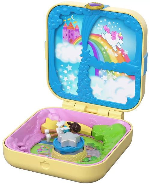 Polly Pocket Hidden Hideouts Unicorn Utopia Playset