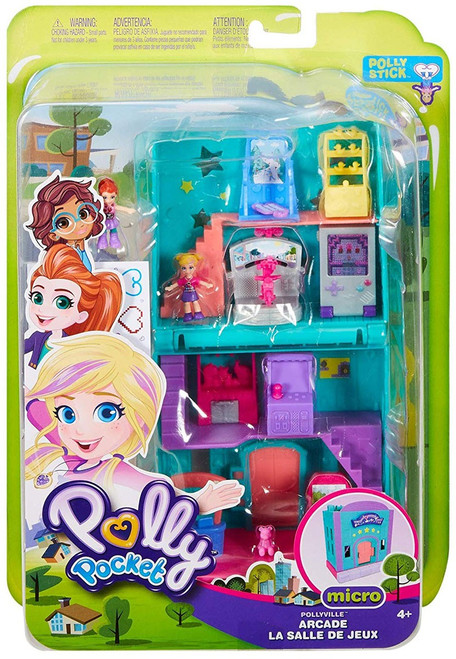 Polly Pocket Micro Arcade Playset