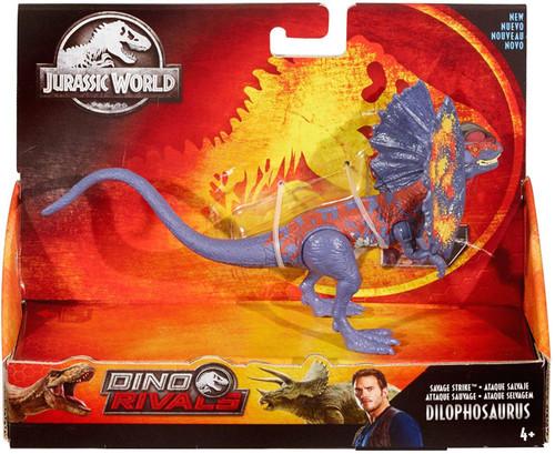 Jurassic World Fallen Kingdom Dino Rivals Dilophosaurus Action Figure