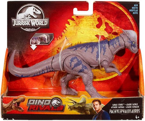 Jurassic World Fallen Kingdom Dino Rivals Pachycephalosaurus Action Figure