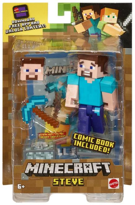 Minecraft Comic Maker Steve Action Figure
