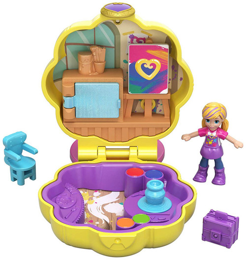 Polly Pocket Tiny World Awesome Art Studio Playset