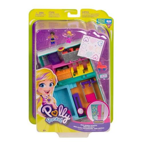 Polly Pocket Micro Mini Middle School Playset