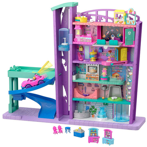 Polly Pocket Pollyville Mega Mall Playset (Pre-Order ships May)