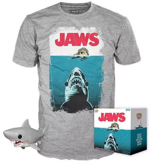 Funko POP! Movies Jaws Exclusive Vinyl Figure & T-Shirt [Large]