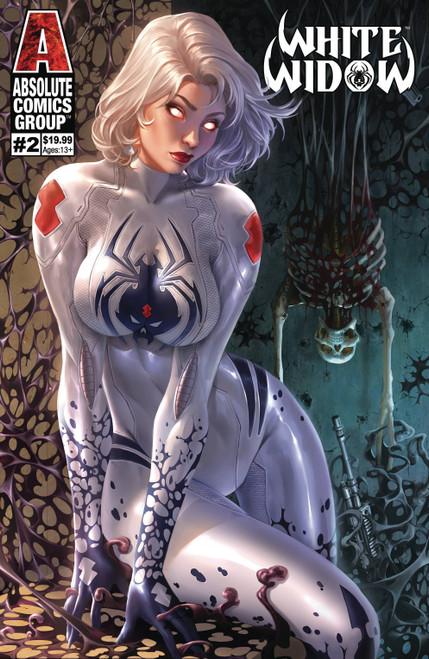 Absolute Comics Group White Widow #2 Comic Book [Debalfo Lenticular Cover C]