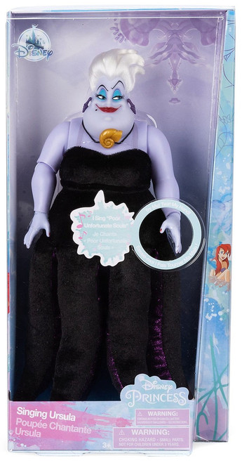 Disney Princess The Little Mermaid Ursula Exclusive 11.5-Inch Singing Doll