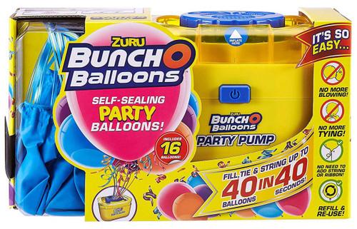 Bunch O Balloons Party Pump [16 Blue Balloons]