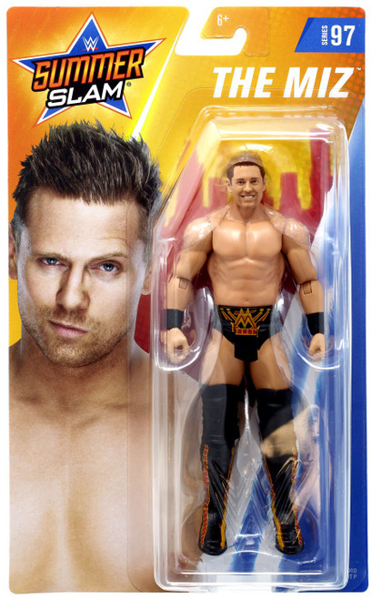 WWE Wrestling Series 97 The Miz Action Figure [Black Shorts]