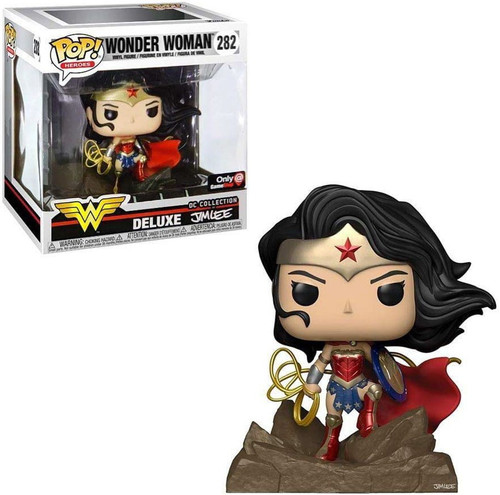 Funko DC Collection by Jim Lee POP! Heroes Wonder Woman Exclusive Deluxe Vinyl Figure #282