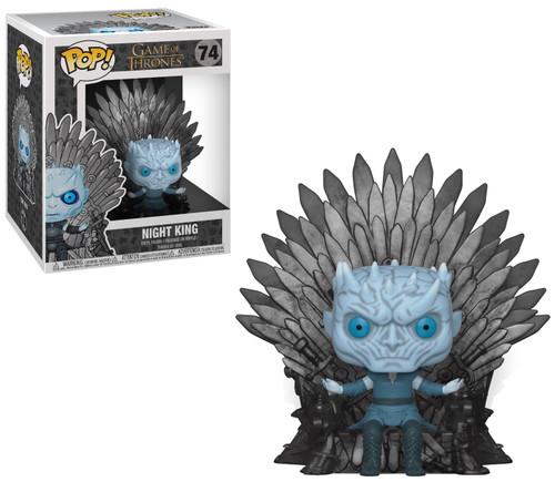 Funko Game of Thrones POP! TV Night King Deluxe Vinyl Figure #74 [Sitting On Throne, Damaged Package]
