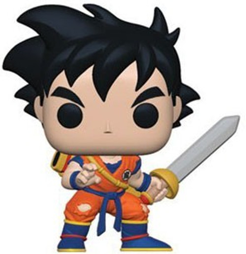 Funko Dragon Ball Z POP! Animation Young Gohan Exclusive Vinyl Figure [with Sword, Damaged Package]
