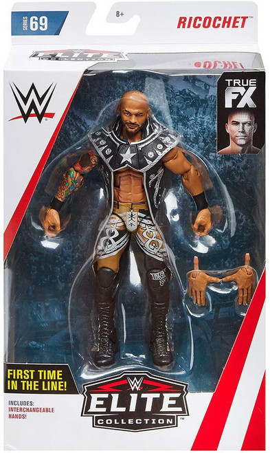 WWE Wrestling Elite Collection Series 69 Ricochet Action Figure