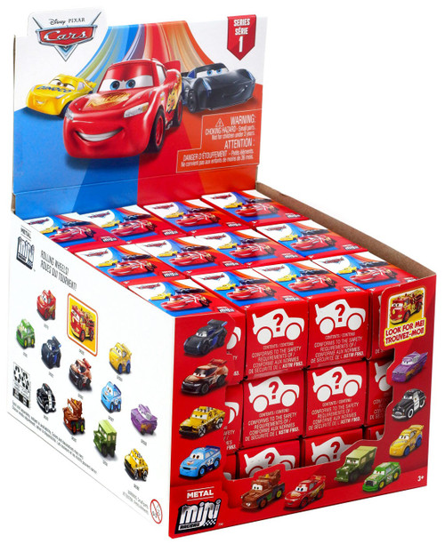 Disney Cars 3 Metal Mini Racers Series 1 Mystery Box [36 Packs]