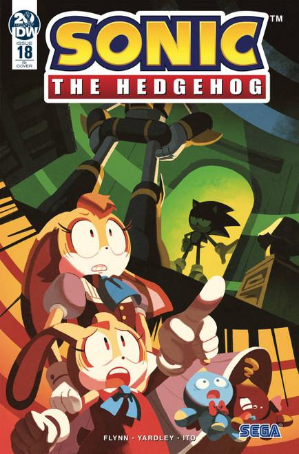IDW Sonic The Hedgehog #18 Comic Book [Nathalie Fourdraine Variant Cover]