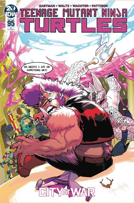 IDW Teenage Mutant Ninja Turtles Ongoing #95 Comic Book [Ben Bates Variant Cover]