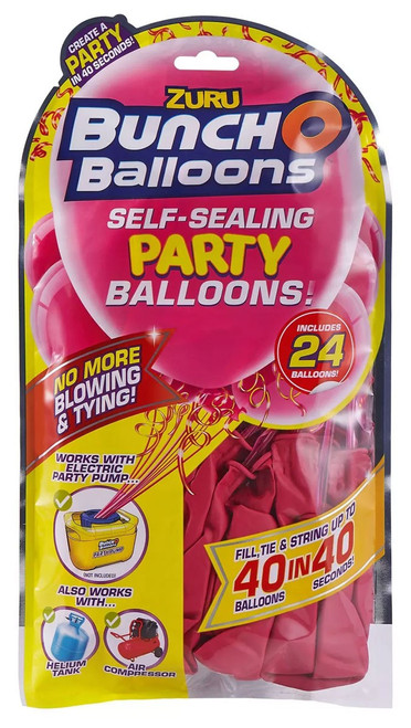 Bunch O Balloons 24-Pack [Pink]